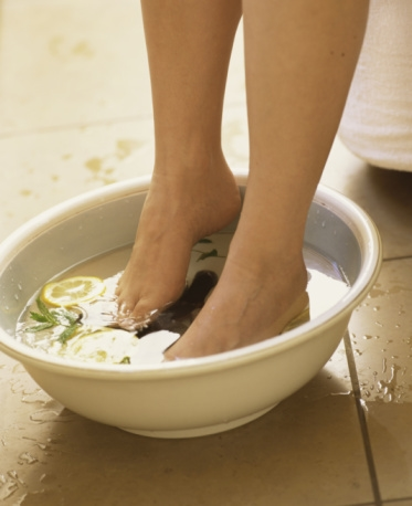 Lemon and Mint Footbath